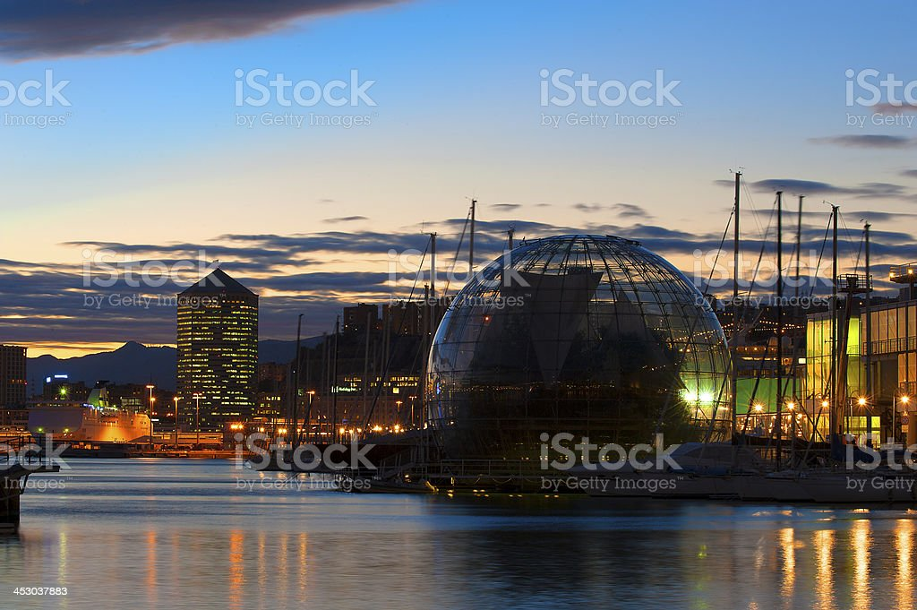 The glass bubble stock photo