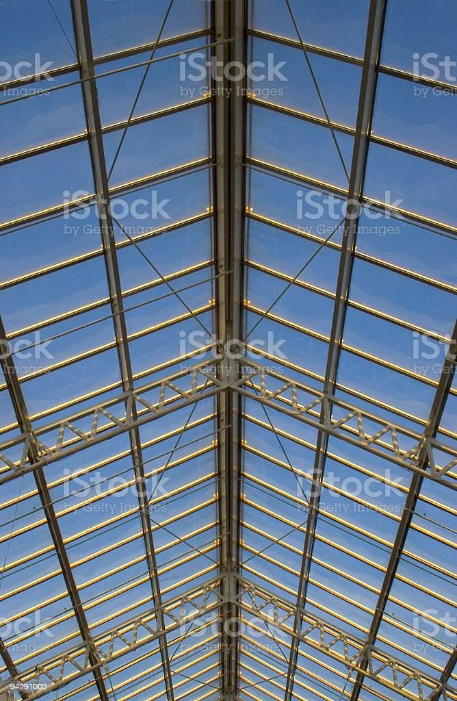 The Glass Ceiling royalty-free stock photo