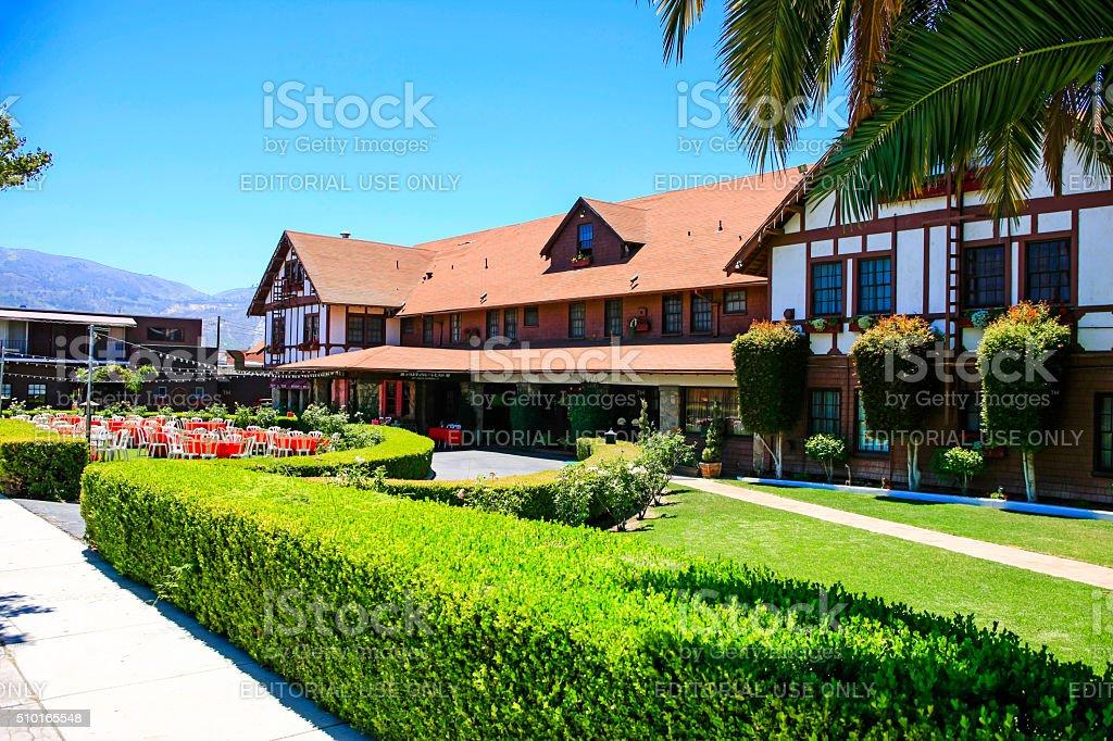 The Glen Tavern Inn and Restaurant in Santa Paula California stock photo