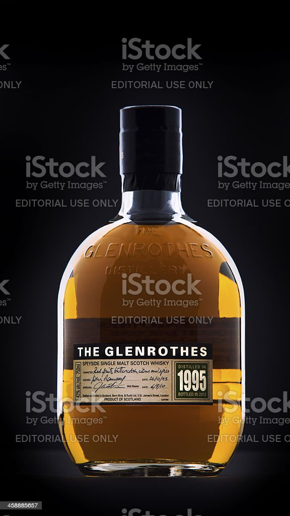 The Glenrothes Single Malt Scotch royalty-free stock photo