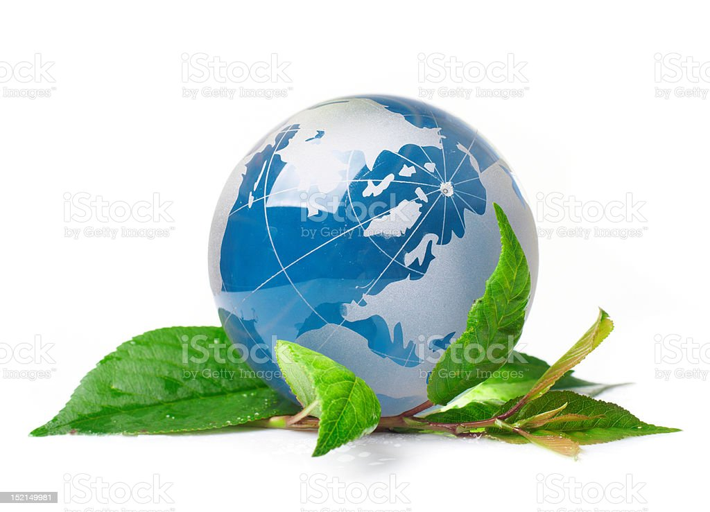 The globe concept eco royalty-free stock photo