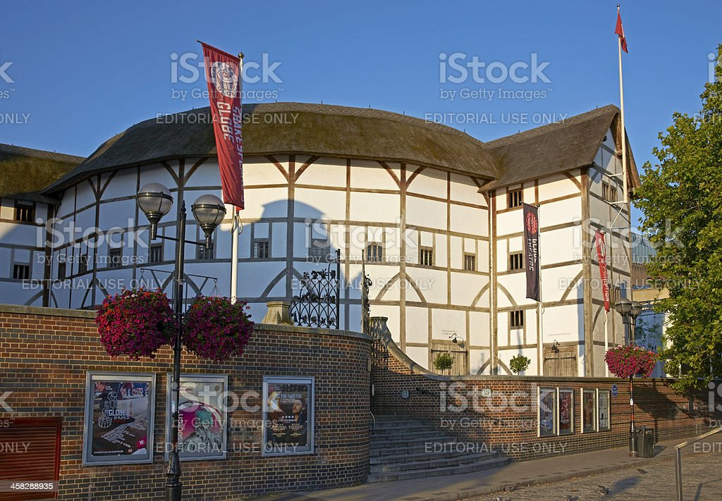 The Globe Theatre royalty-free stock photo