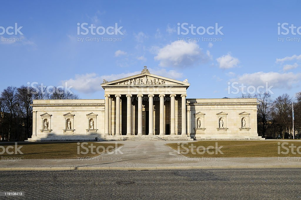 The Glyptothek in Munich stock photo