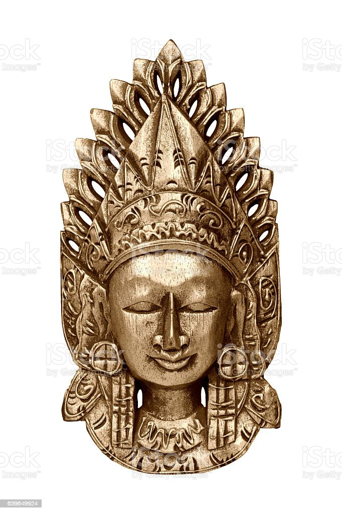 The god Vishnu stock photo
