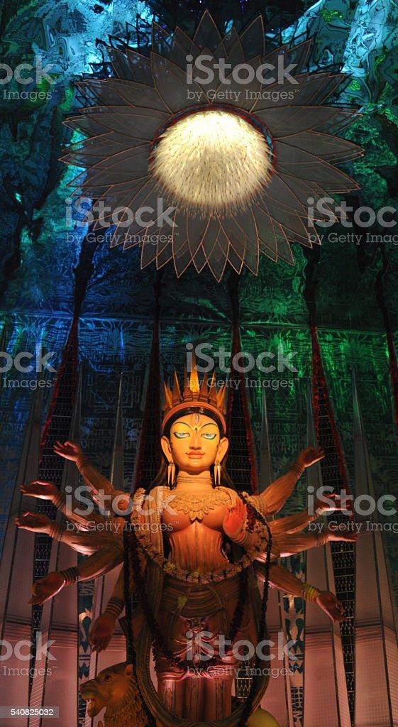 The Goddess Durga stock photo