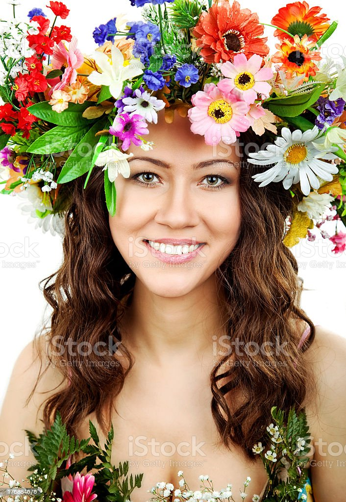 The goddess of fertility royalty-free stock photo