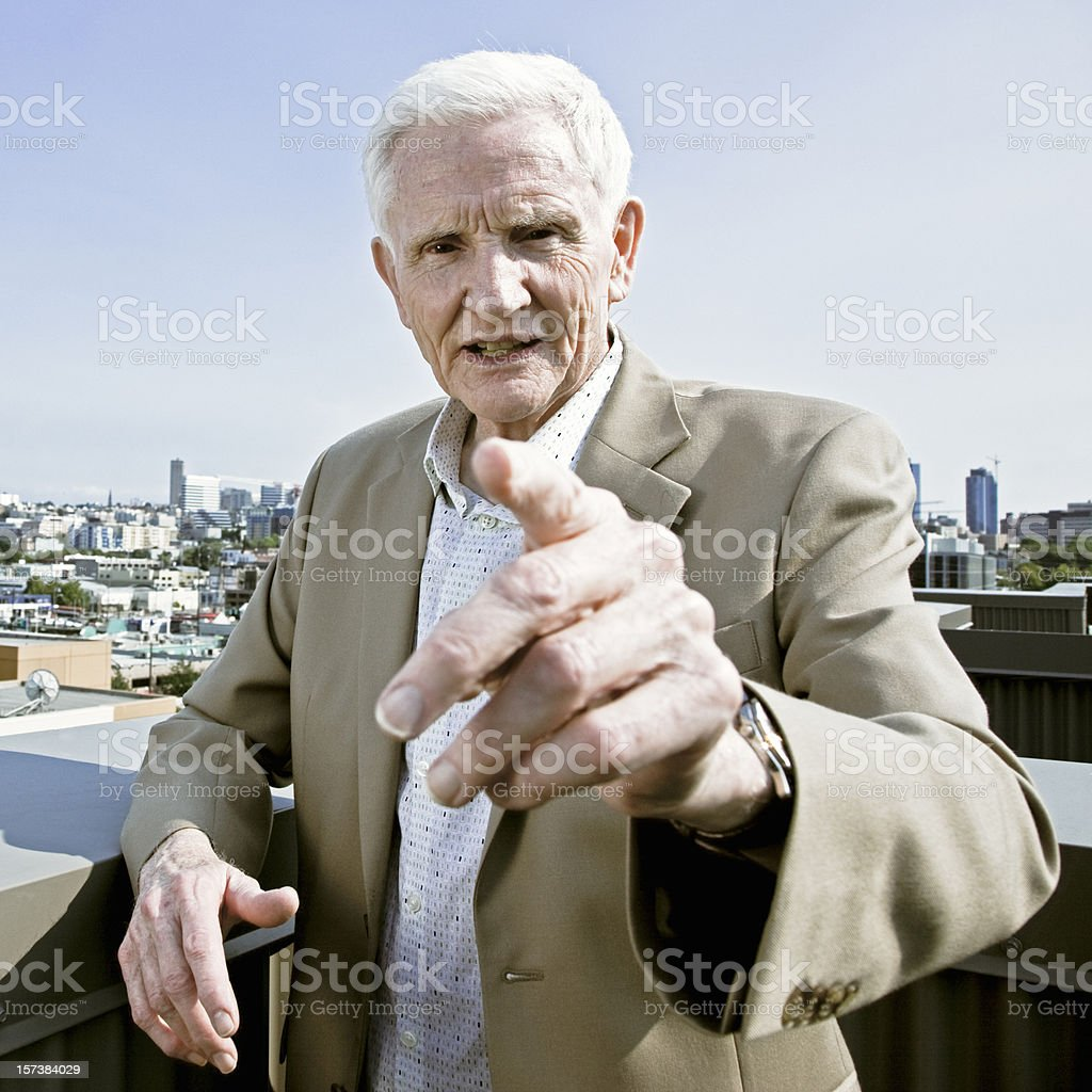The Godfather told you so. royalty-free stock photo