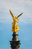 the golden angel of peace