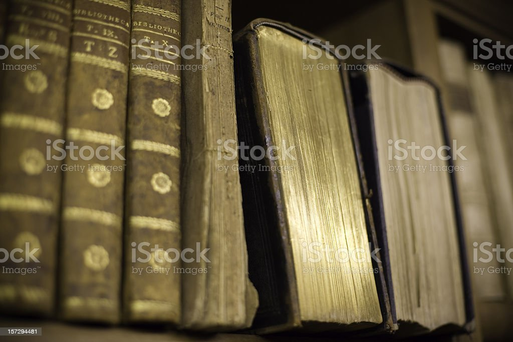 The golden book royalty-free stock photo