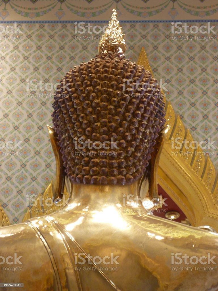 The golden buddha at Wat Traimit, Bangkok, stock photo