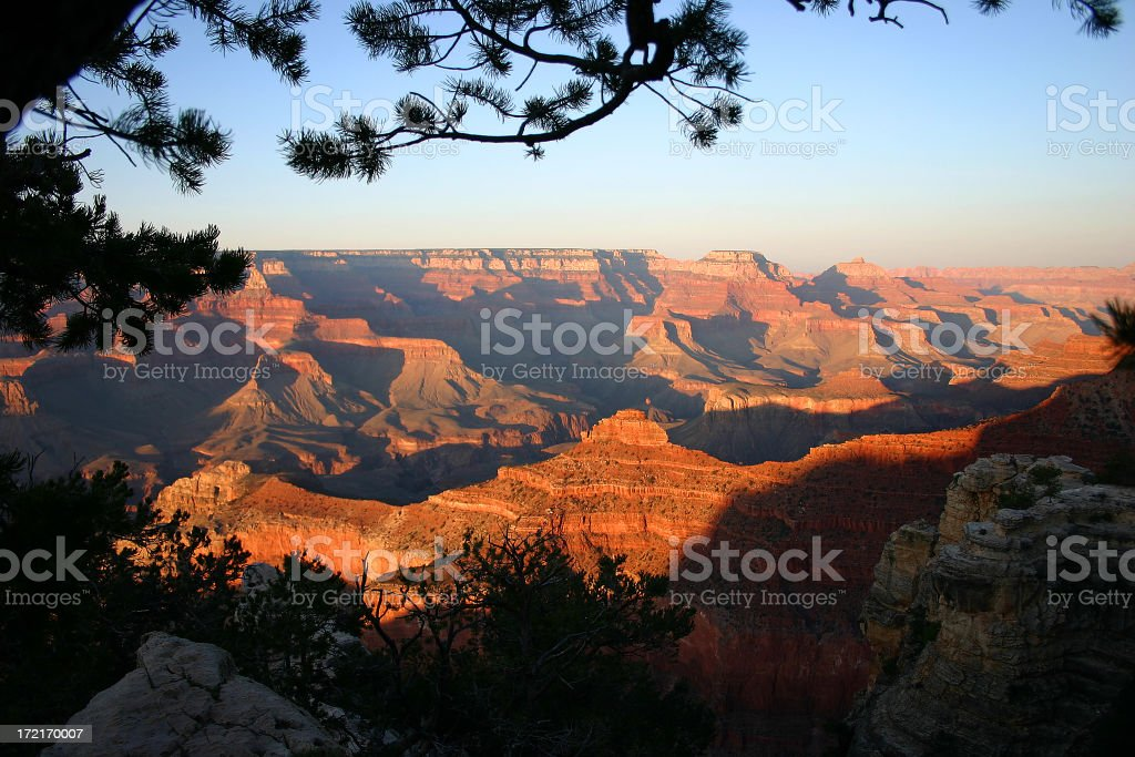 the Golden Canyon royalty-free stock photo