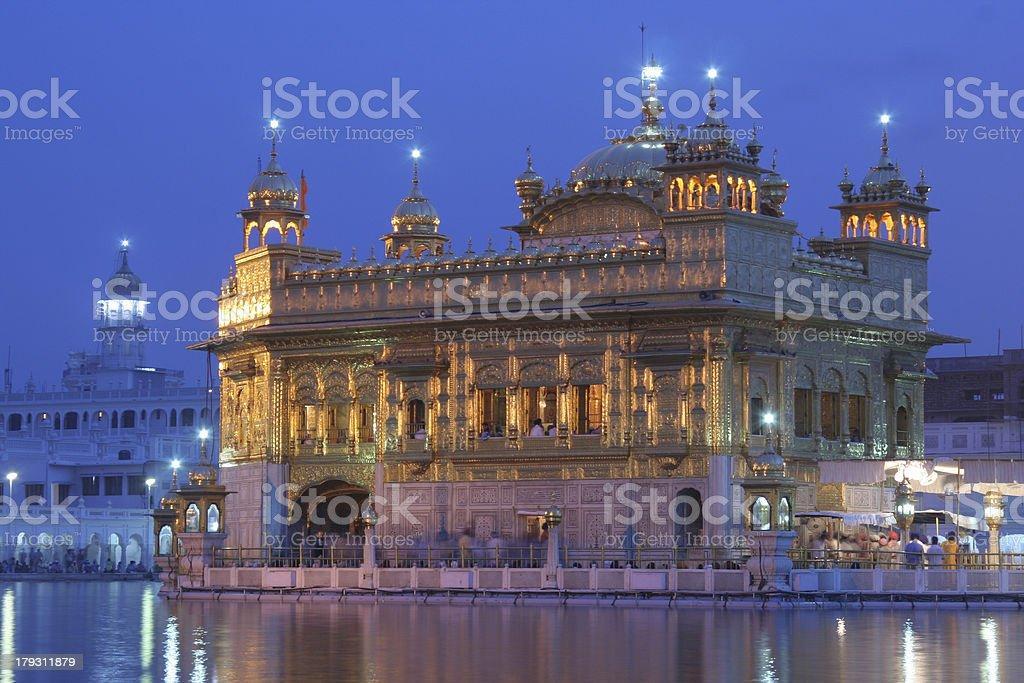 The Golden temple Amritsar, India. royalty-free stock photo