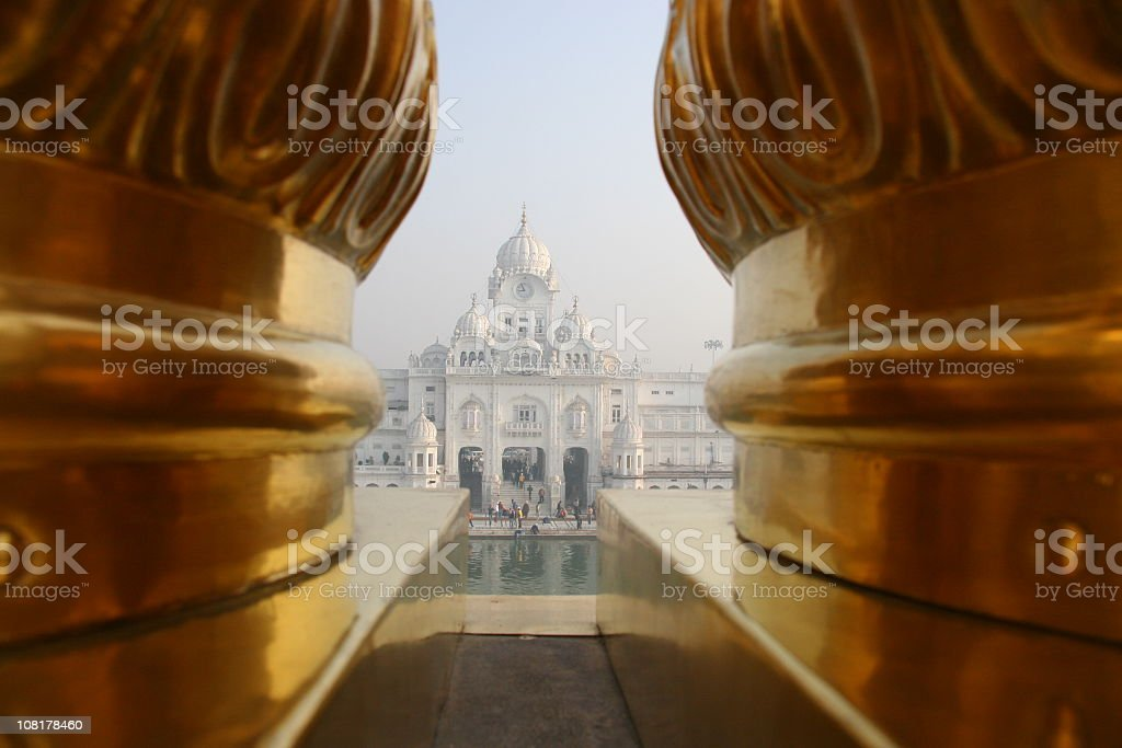 The Golden Temple, India stock photo