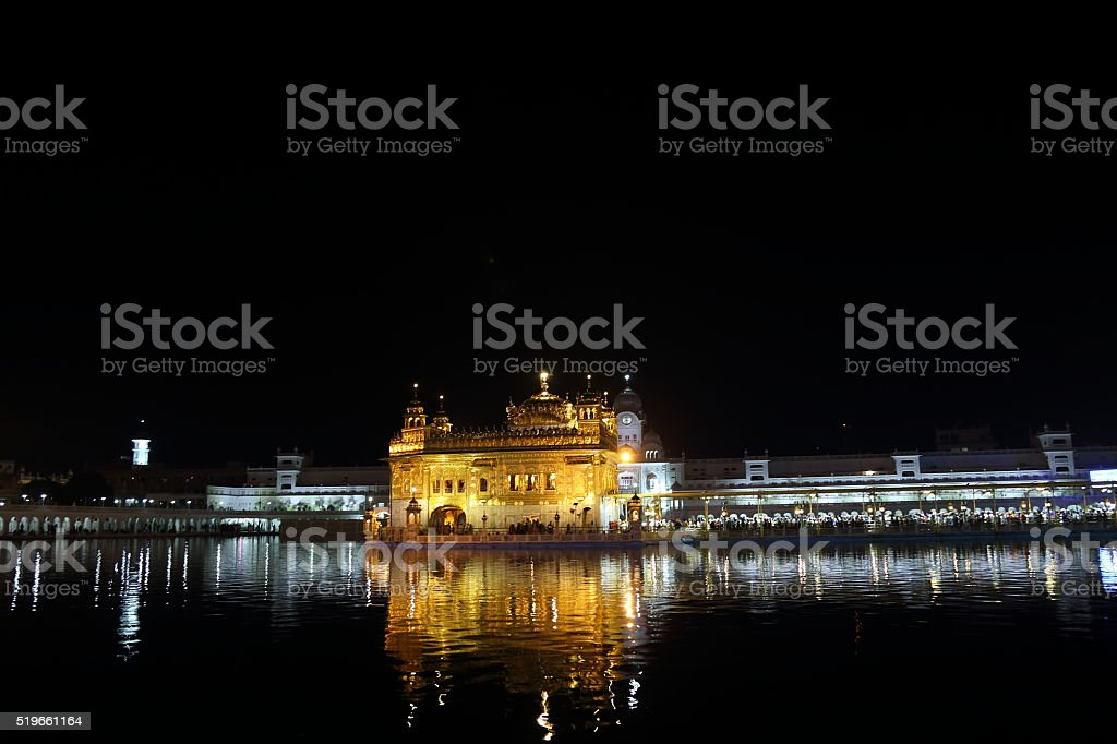 The Golden Temple stock photo