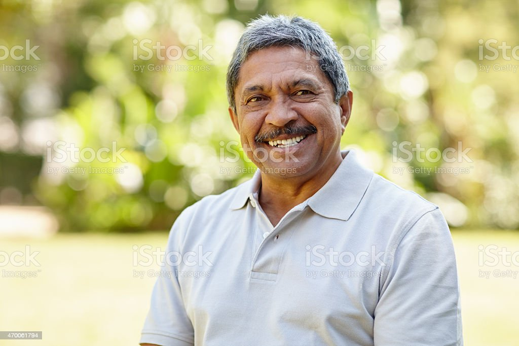 The golden years are great stock photo