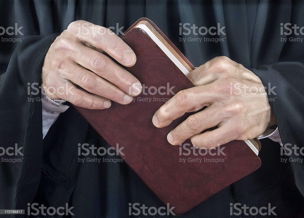 The Good Book royalty-free stock photo