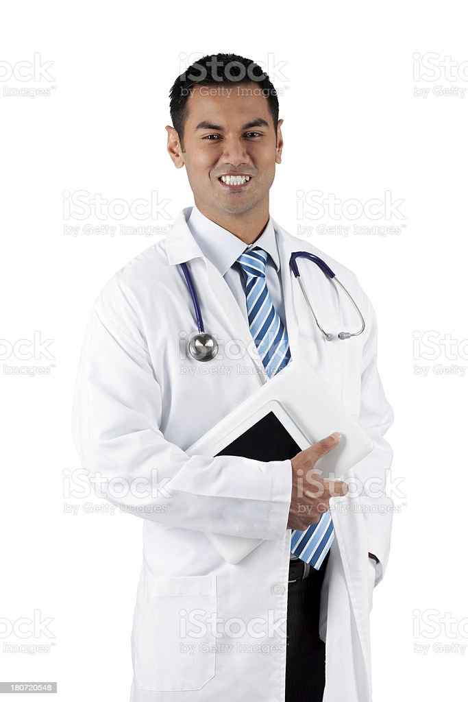 The Good Doctor royalty-free stock photo