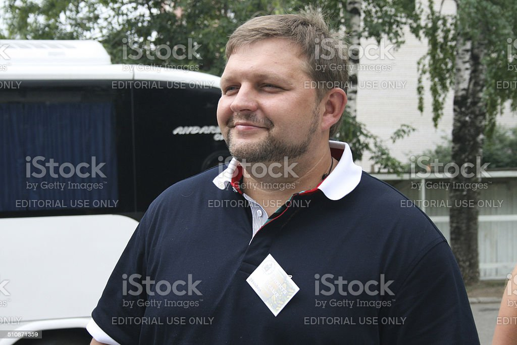 The Governor of the Kirov region Nikita Belykh stock photo