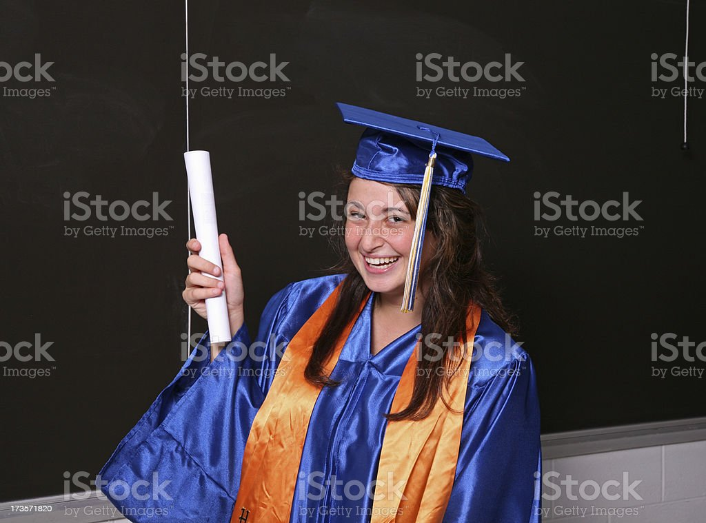 The Graduate   SEE OTHER IMAGES FROM SAME SESSION royalty-free stock photo