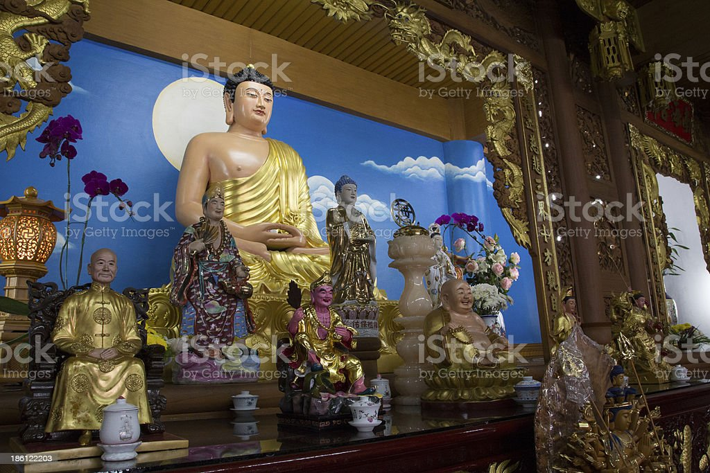 the graet chinese Buddha royalty-free stock photo