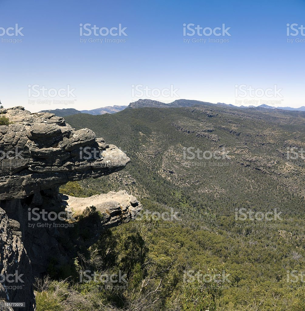 The Grampians, Victoria, Australia stock photo