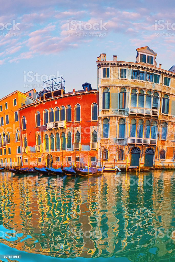 The Grand Canal in Venice stock photo