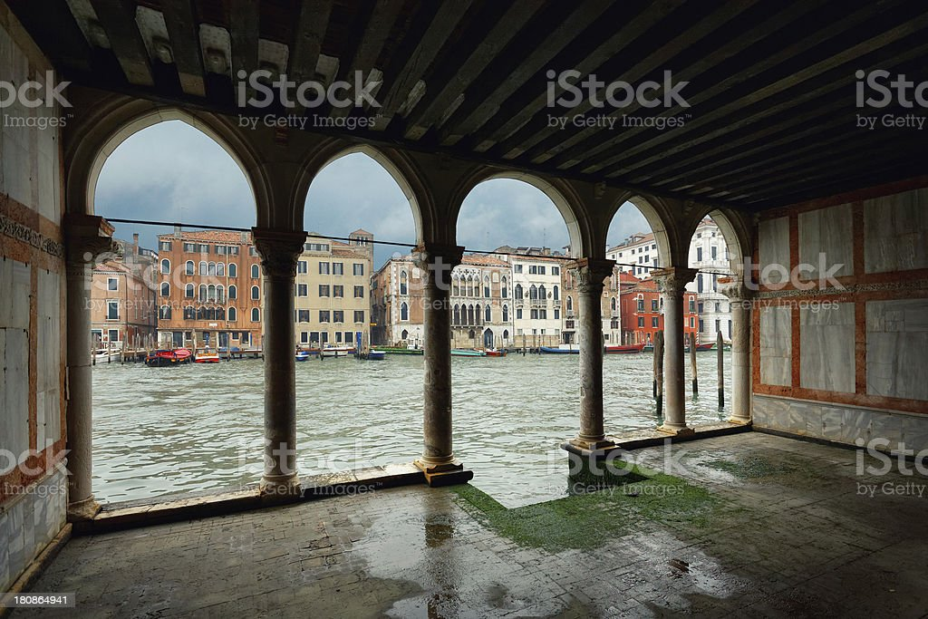 The Grand Canal of Venice royalty-free stock photo