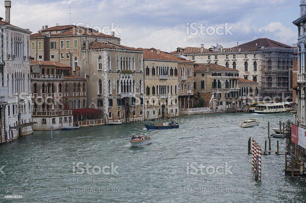 The Grand Canal - Venice, Italy royalty-free stock photo