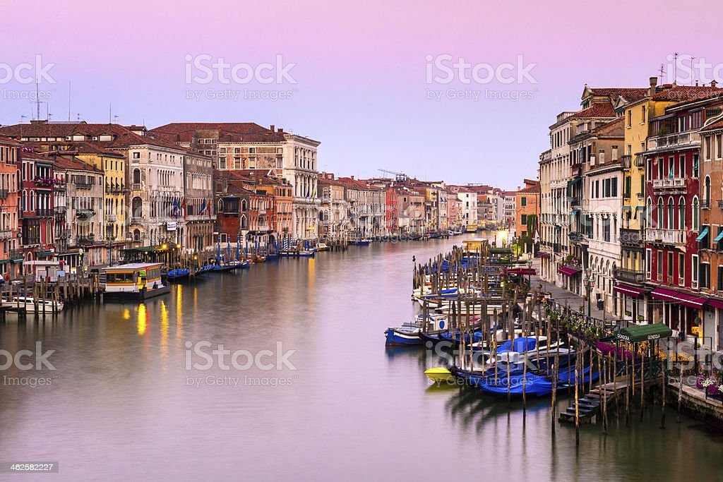 The Grand Canal, Venice, Italy royalty-free stock photo