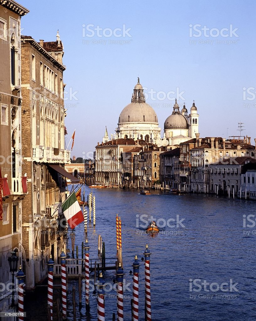 The Grand Canal, Venice, Italy. royalty-free stock photo