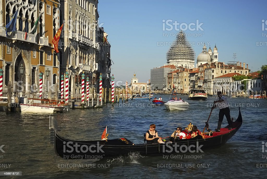The Grand Canal, Venice royalty-free stock photo