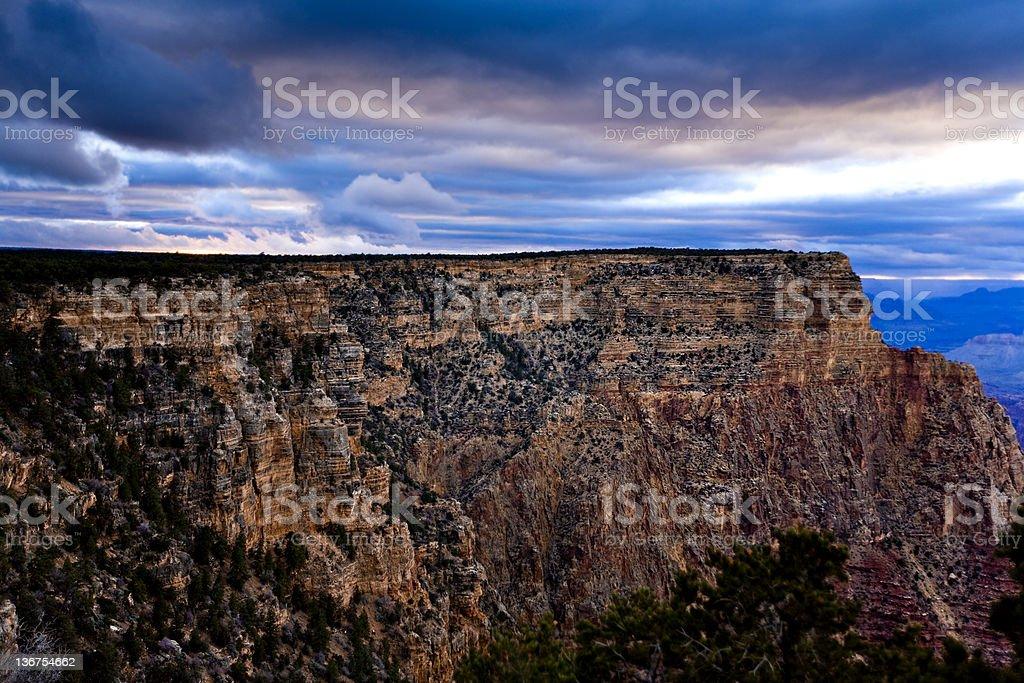 The Grand Canyon stock photo