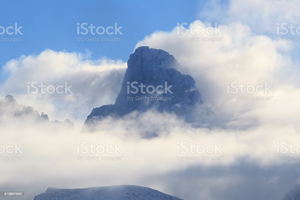 The Grand In Clouds stock photo