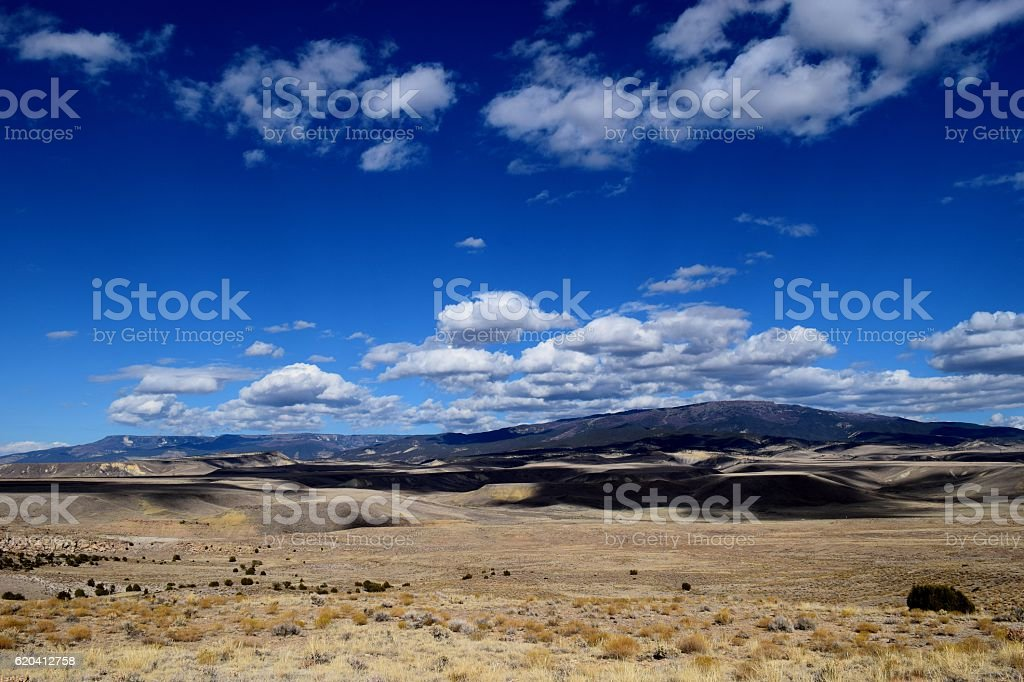 The Grand Mesa stock photo