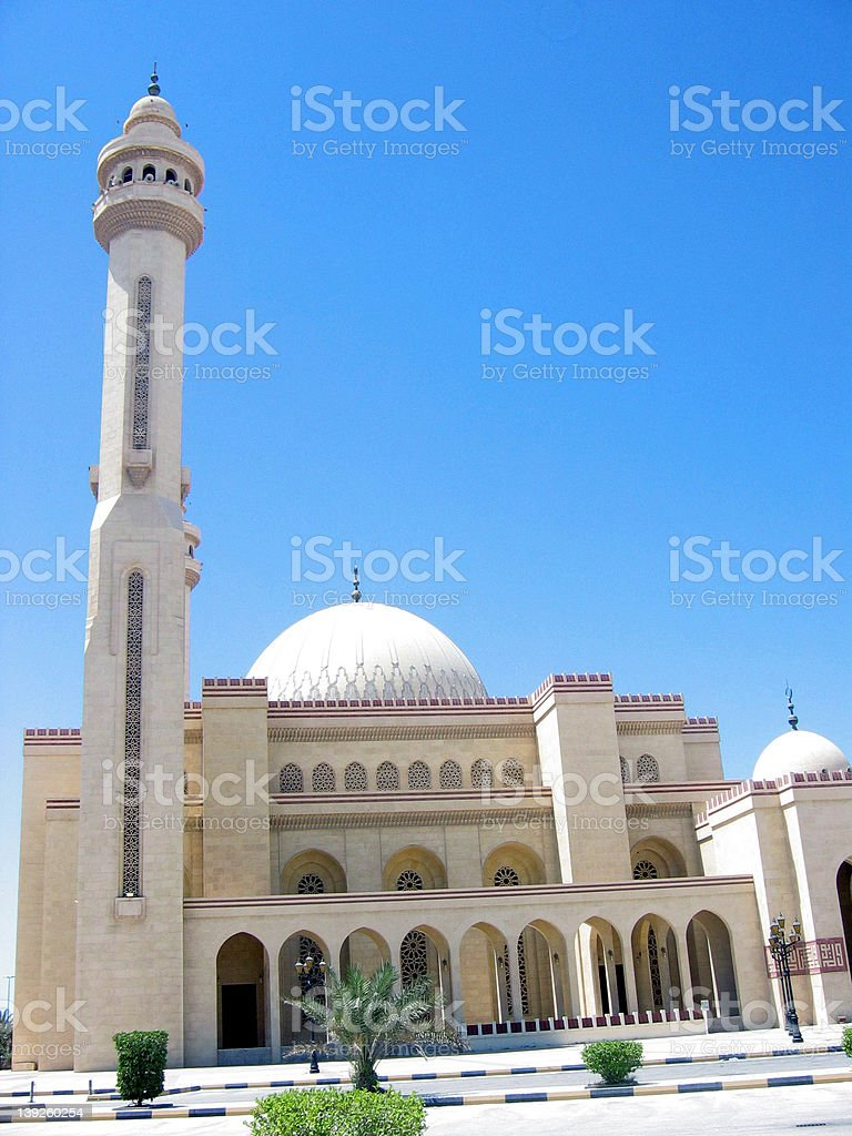 The Grand Mosque royalty-free stock photo