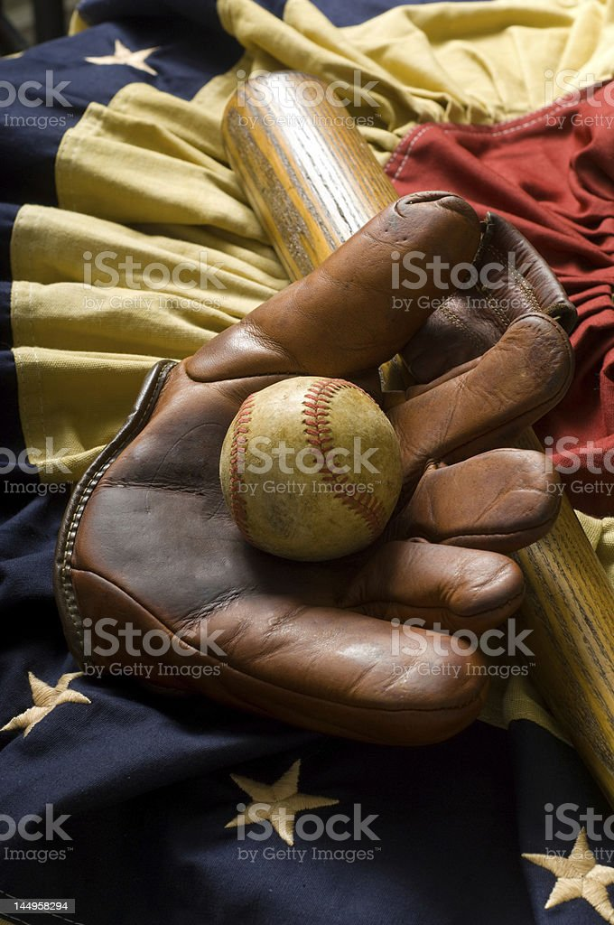 The Grand Ol' Game royalty-free stock photo