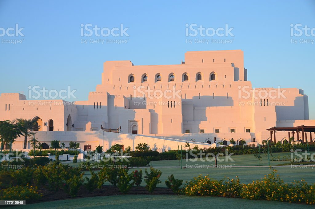 The Grand Opera House, Muscat stock photo