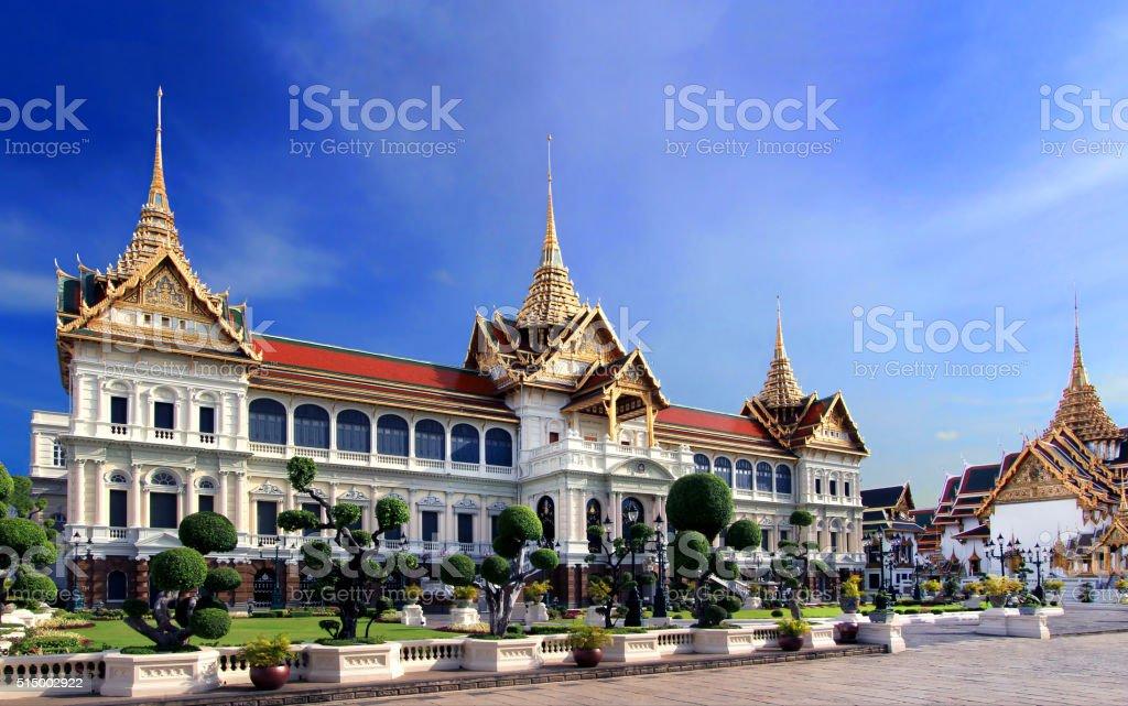 The Grand Palace in Bangkok stock photo