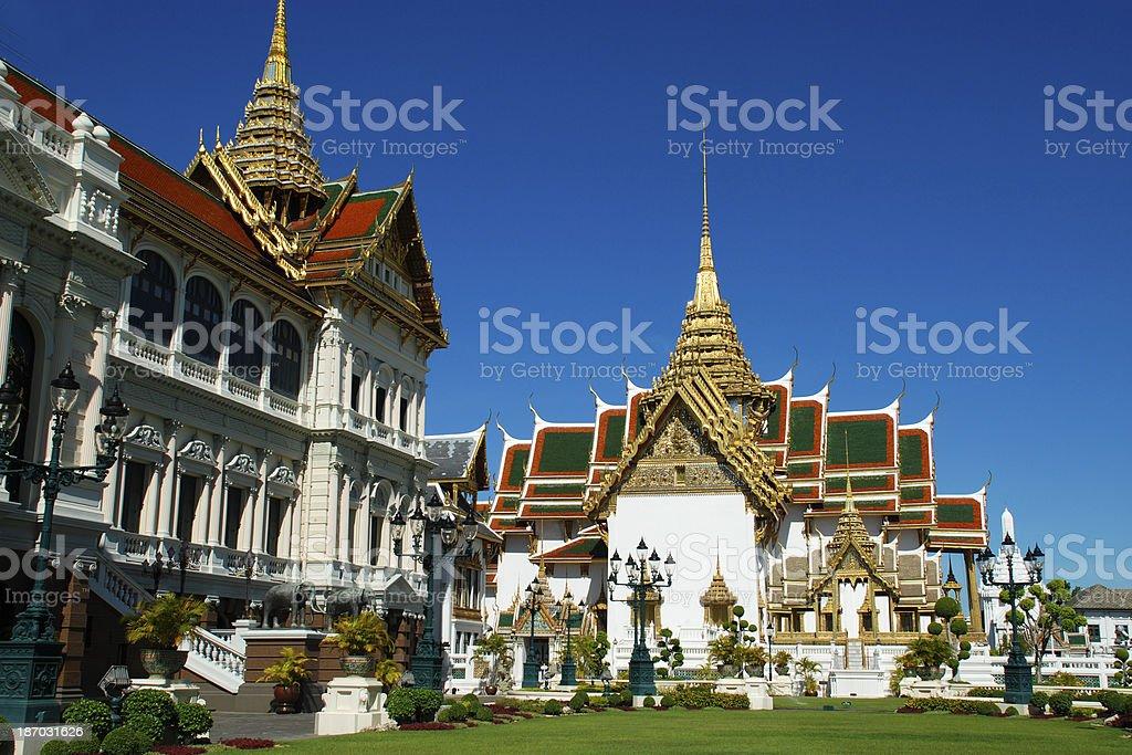 The Grand Palace in Bangkok Thailand. royalty-free stock photo