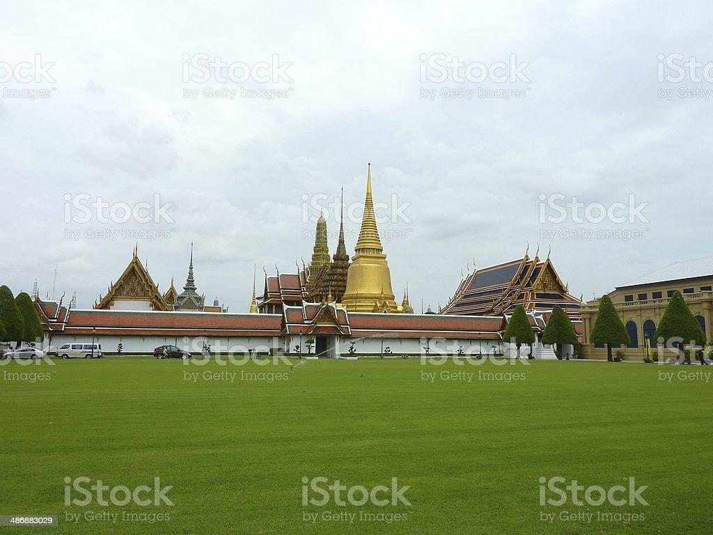 The Grand Palace in Bangkok, Thailand royalty-free stock photo