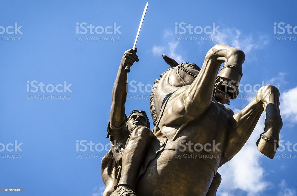The great Alexander. stock photo