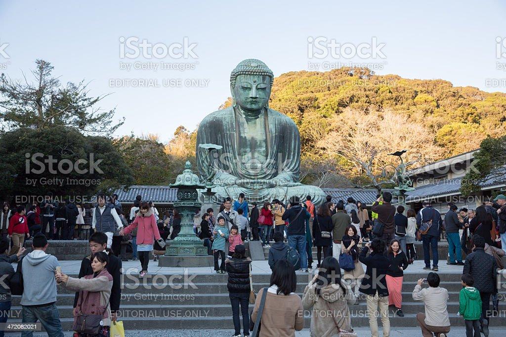 The Great Buddha in Kamakura, Japan stock photo
