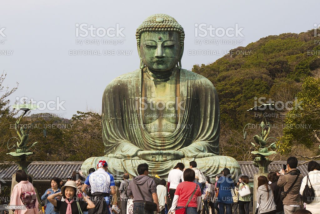 The Great Buddha of Kamakura, Japan stock photo