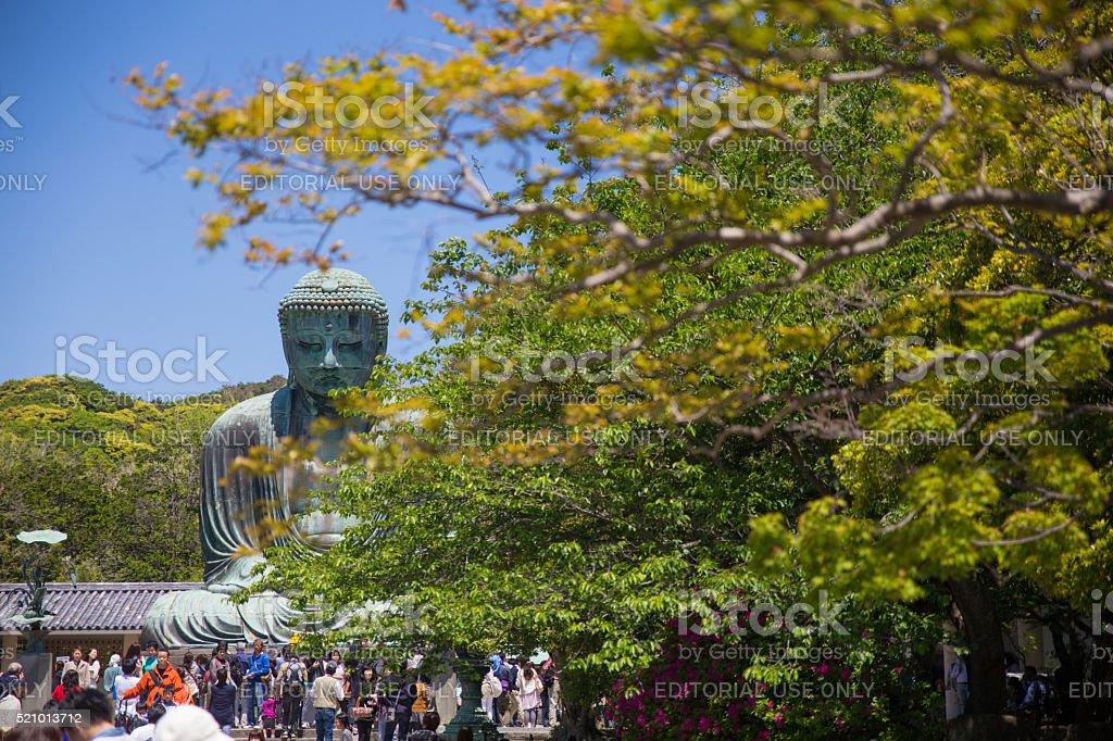 The Great Buddha of Kamakura stock photo
