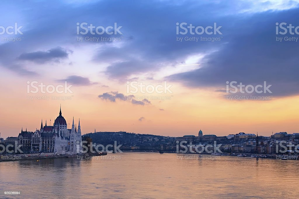 The Great Danube royalty-free stock photo