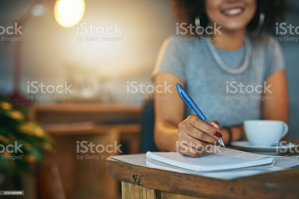 The great ideas just keep flowing stock photo