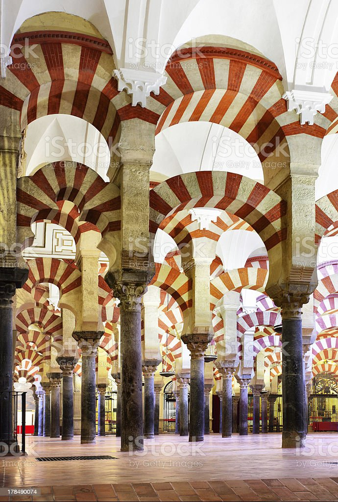 The Great Mosque of Cordoba stock photo