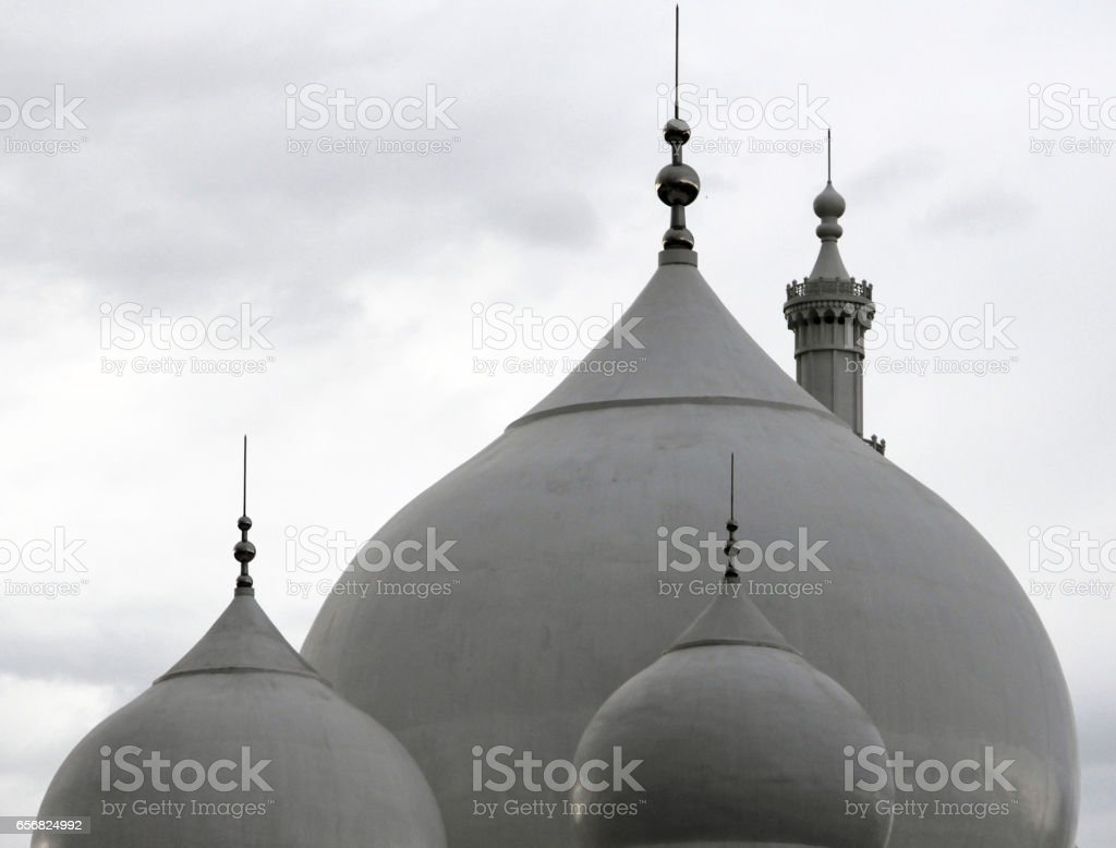 The Great Mosque of Hohhot, Inner Mongolia stock photo