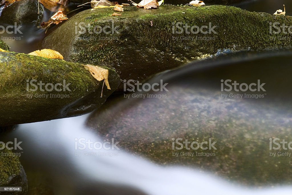 The Great Smoky Mountains roaring fork motor trail stream royalty-free stock photo