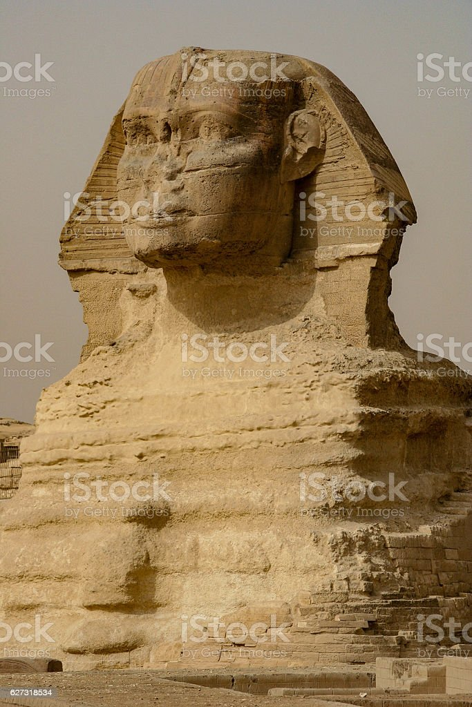 The Great Sphinx of Giza, Cairo, Egypt stock photo